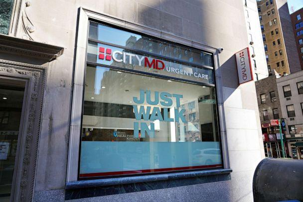 PHOTO: An exterior view of CITYMD Urgent Care on March 24, 2020 in New York City. (Cindy Ord/Getty Images, FILE)