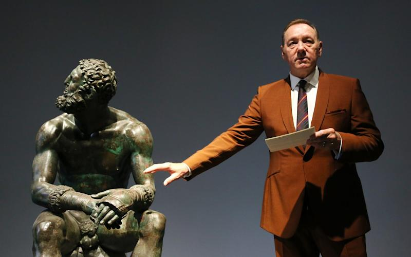 "Actor Kevin Spacey attends the reading of the event ""The Boxer - La nostalgia del poeta - Getty"