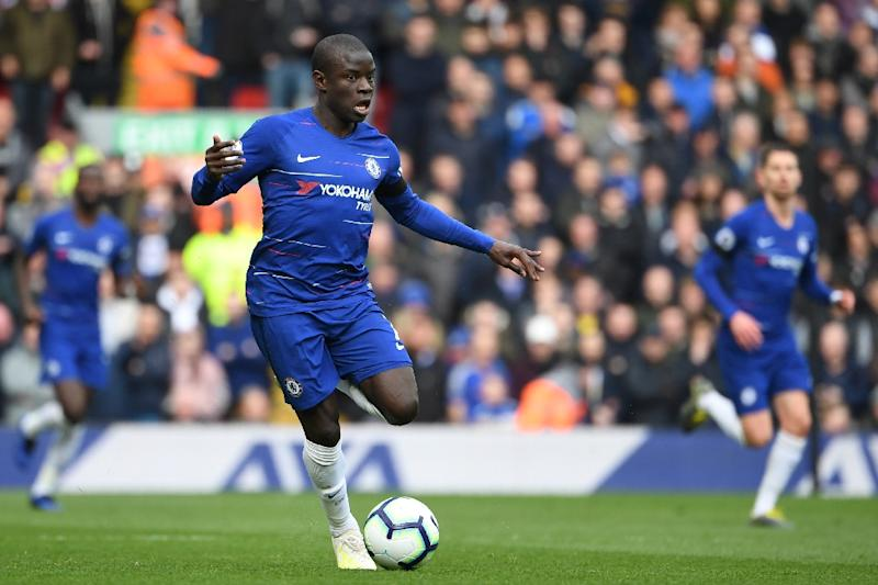 Chelsea's N'Golo Kante expects his side to win their top four bid