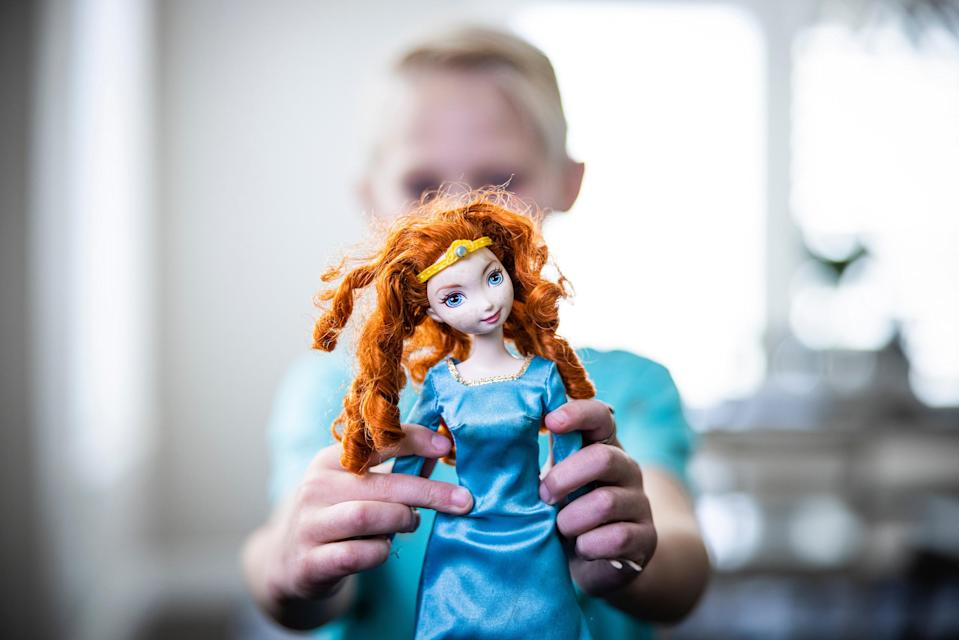 """Research from BYU indicates that engagement with princess culture has a positive impact on child development over time.<span class=""""copyright"""">Nate Edwards/BYU Photo</span>"""