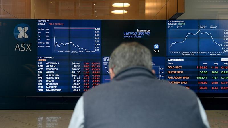 Australian shares have suffered their second worst day of the year, after losses on Wall Street