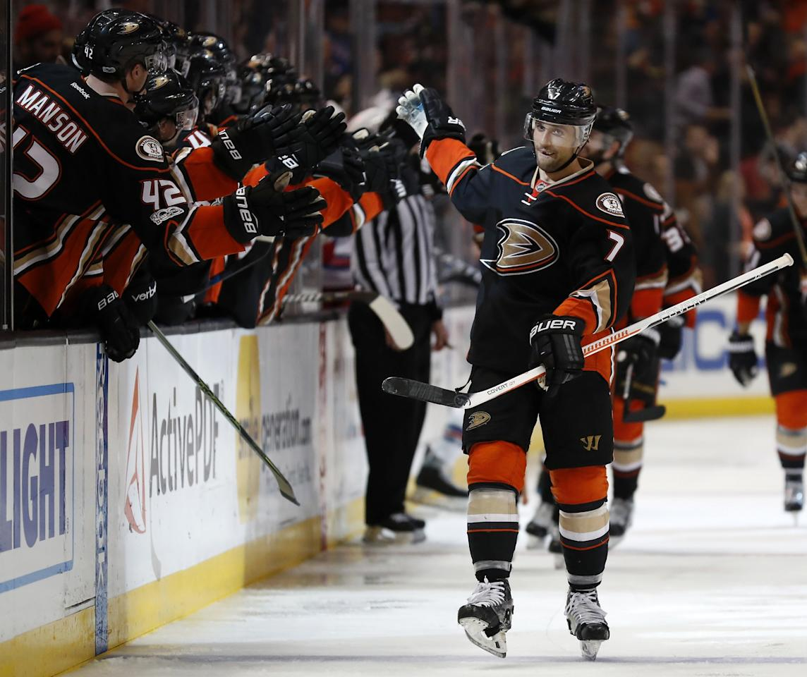<p>The Anaheim Ducks forward is the NHL's longest active iron man, with his consecutive games-played streak now at 780 and counting. In fact, the Toronto, Ontario, native hasn't missed a single game since his NHL career began with the Edmonton Oilers in October of 2007. </p>
