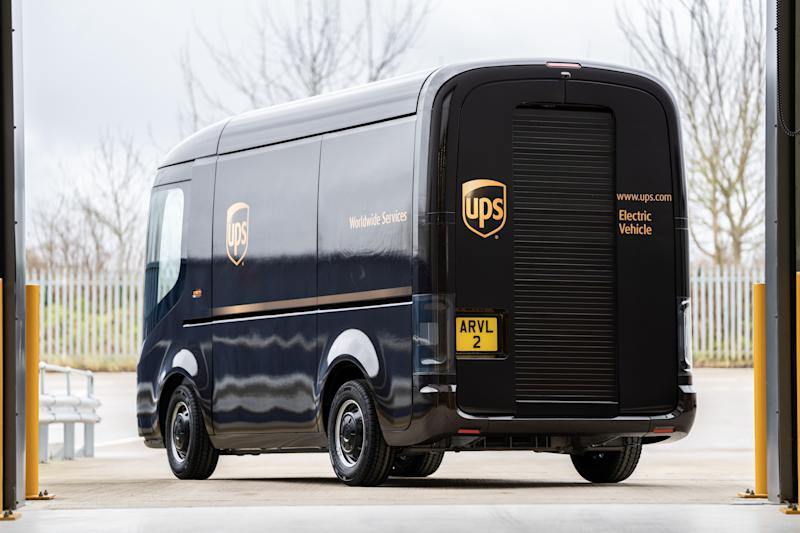 UPS is buying 10,000 electric vehicles from London based Arrival Ltd. UPS purchased a minority stake in the company and intends to take delivery of the EV package cars by the end of this year.