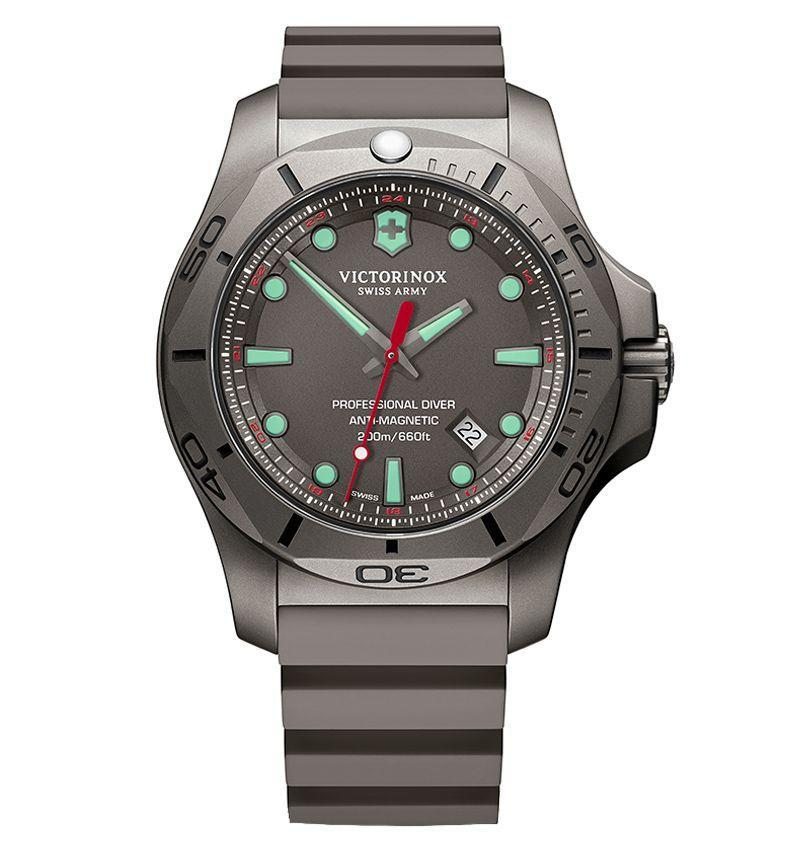 "<p><strong>$725</strong></p><p><a class=""link rapid-noclick-resp"" href=""https://www.swissarmy.com/us/en'&/Products/Watches/Mens-Watches/I-N-O-X-Professional-Diver/p/241810"" rel=""nofollow noopener"" target=""_blank"" data-ylk=""slk:LEARN MORE"">LEARN MORE</a></p><p>It would stand to reason that Victorinox, maker of Swiss Army knives since 1890, should double down on reliability when it comes to its watches, too. Victorinox watches are submitted to a unique battery of 130 in-house tests for reliability and strength as well as passing the international standard ISO6425 for dive watches that was established in the '90s. This quartz model comes with a lightweight titanium case, which is hypoallergenic and up to 45 percent lighter than stainless steel but just as strong, and a really good price.</p>"