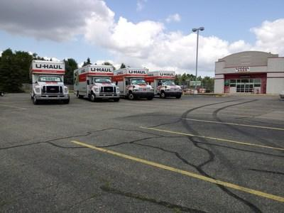 U-Haul® will soon be presenting an impressive retail and self-storage facility in Byron Center thanks to the recent acquisition of the former Kmart® property at 701 68th St. SW.