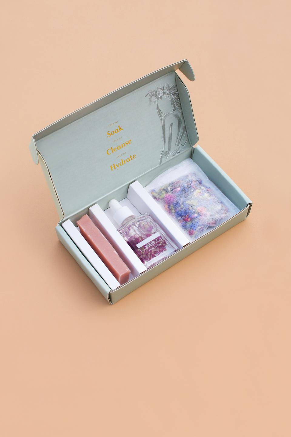 Peggy Sue Self-Care Trio, $52. Photo: supplied.