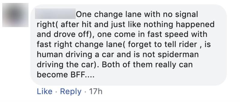 Comment on Oct 2, 2019 road accident.Comment on Oct 2, 2019 road accident.