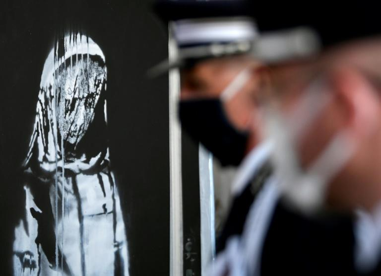 Italian police handed back the stolen artwork to France in July