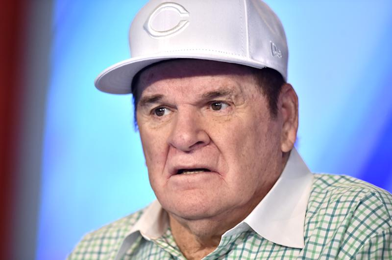 Baseball legend Pete Rose.