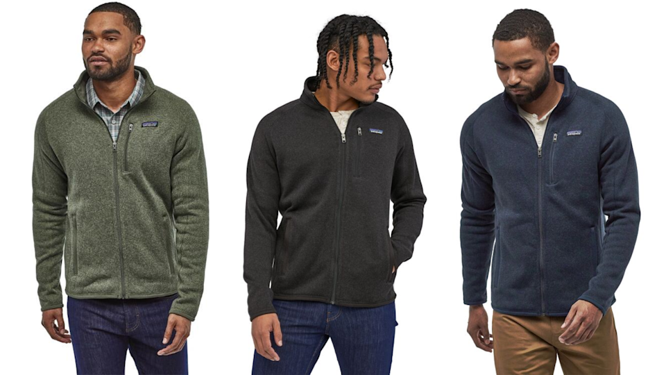 Best gifts for grandpa: Patagonia fleece jacket