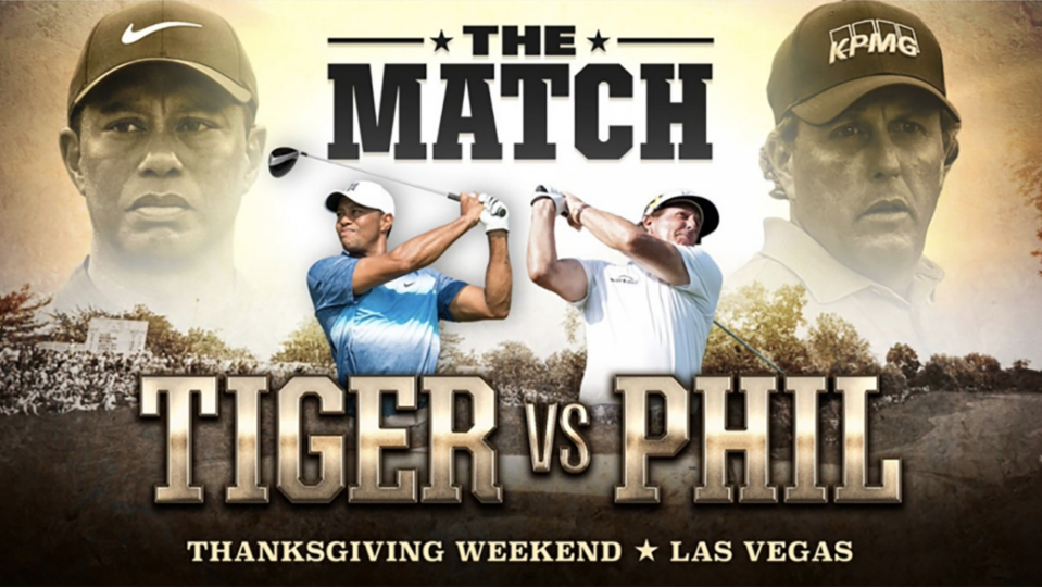 Tiger Woods vs. Phil Mickelson finally has a date, time and price.