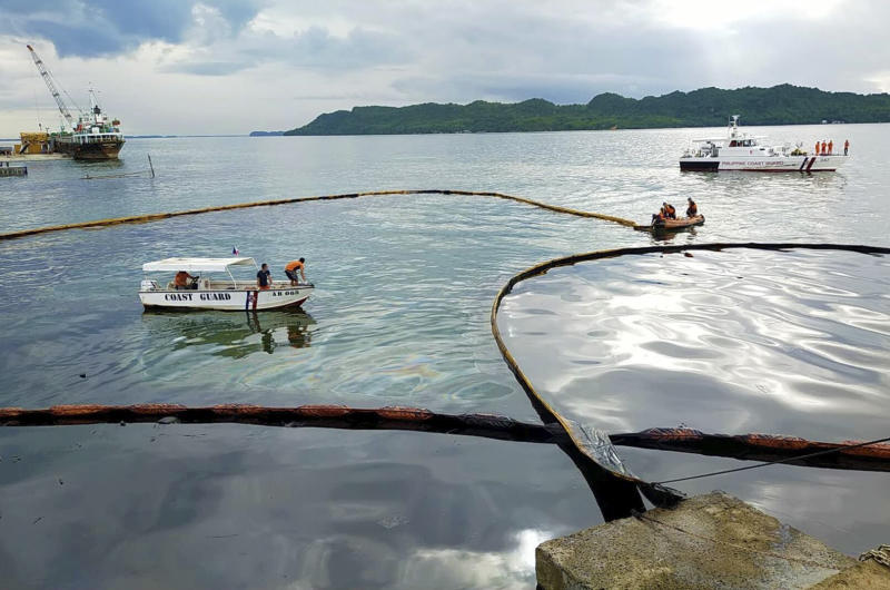 Philippines Oil Spill