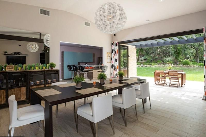 The home features indoor/outdoor living spaces. Photo: Australscope.