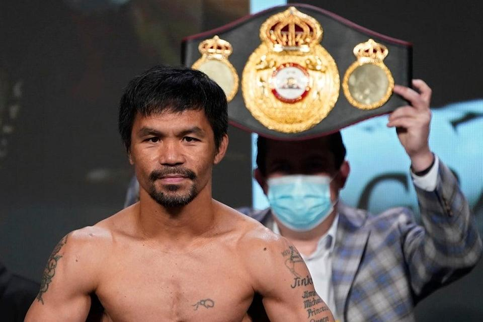 Pacquiao has asked the people of the Philippines to support him in his bid to be the president  (AP)
