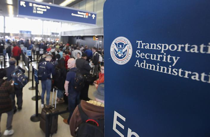 Even if you don't appear on any terrorist watchlists, the TSA may be watching you. (Photo: Scott Olson via Getty Images)