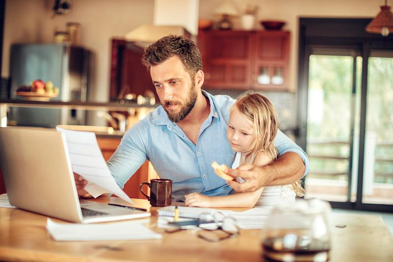 There was a difference between mothers and fathers in terms of passing stress on. (Getty Images)