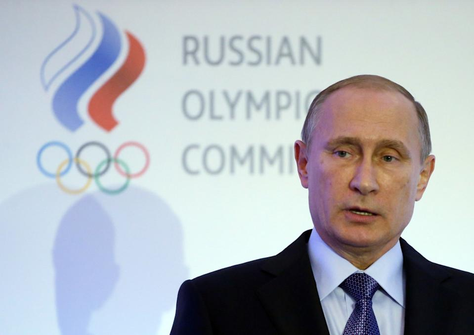 Russian President Vladimir Putin has dismissed the doping allegations against his country's athletes. (Getty)