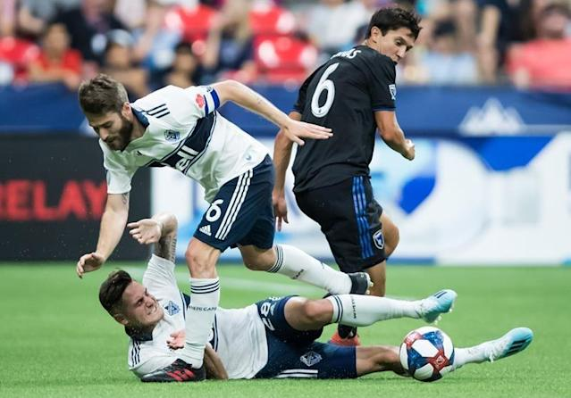 """VANCOUVER — The Vancouver Whitecaps know their recent play simply hasn't been good enough, says the team's goalkeeper.""""We all know it. We're not hiding. We all know it,"""" Maxime Crepeau said Saturday after the 'Caps lost their fifth Major League Soccer game in a row, a 3-1 defeat at the hands of the San Jose Earthquakes (10-7-4).""""Everyone deserves better from this club. We need to be better, bottom line.""""Boos echoed around the stadium in Vancouver as the game ended, and two people in the stands were spotted wearing paper bags on their heads.Failing to give fans the performance they deserve hurts, said Whitecaps (4-11-8) coach Marc Dos Santos.""""It's not easy right now but it's just going to make me, the staff and the players involved stronger, for sure,"""" he said.The squad is now winless in their last nine outings across all competition.Saturday night's game started well, with the team looking motivated and aggressive, Dos Santos said.Centre back Doneil Henry opened the scoring in the seventh minute, popping a low shot into the bottom left corner of the Quakes' net. He now has three goals this season.The Whitecaps hadn't scored since the fifth minute of their dismal 6-1 defeat at the hands of Los Angeles FC on July 6.But Quakes midfielder Valeri Qazaishvili was quick to respond, putting away San Jose's first strike of the night in the 16th minute.Chris Wondolowski — who became the league's all-time leading scorer earlier this season — assisted on the play and added a goal of his own in the 34th minute.From there, it was tough for the 'Caps to come back, Dos Santos said.""""When we concede the two goals, mentally right now, it's hard for us. To get a reaction there, it's hard,"""" he said.San Jose's Manus Eriksson rounded out the scoring in the 79th minute, sending a low shot sailing into the Vancouver goal.Crepeau pounded his fists into the turf after the play.""""The first thing on my mind was just frustration. Like """"Holy (pause). I'm beaten.' It hurts,"""" he said.""""I always want """