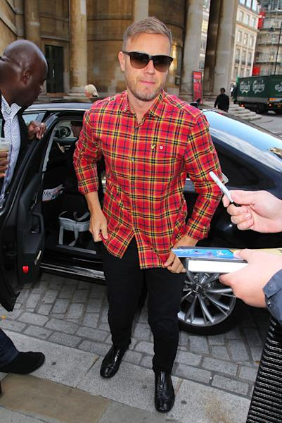 Gary Barlow Set To Team Up With Military Wives At Classical BRIT Awards