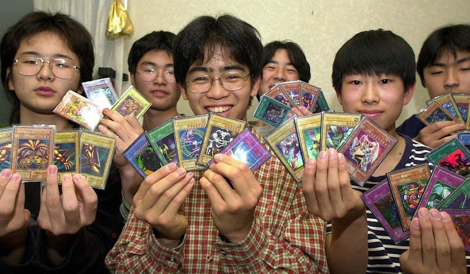 Yu-Gi-Oh! gamecards have been popular globally for decades. Photo: AP