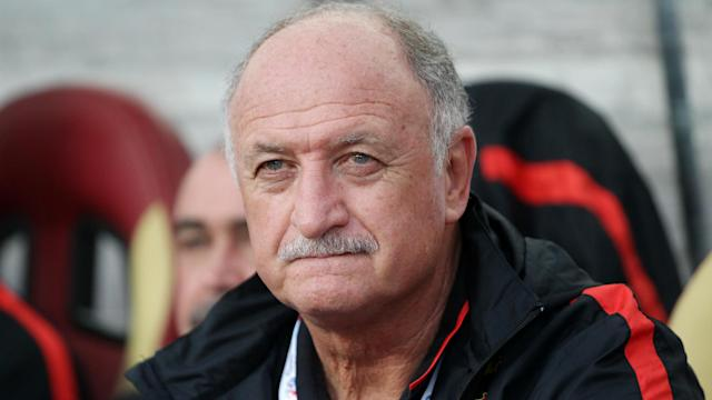 Former Brazil coach Scolari is available