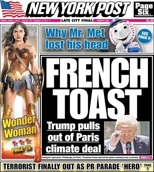 "<p>""The New York Post,"" published in New York, N.Y. (New York Post) </p>"
