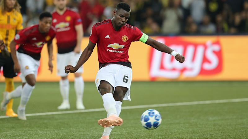 Pogba Reveals Talk With Mourinho About His Penalty Technique