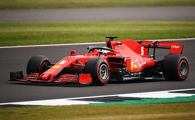 Sebastian Vettel finished a distant 12th in Sunday's 70th Anniversary GP