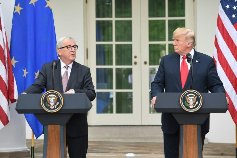 In July, to general surprise, Juncker hit it off with US President Donald Trump