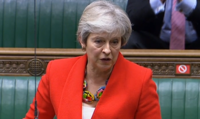 Theresa May leads Tory rebellion against housing shake-up proposed by PM