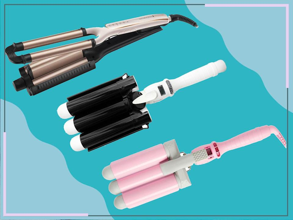<p>Stylers with thicker barrels will create voluminous, loose waves, while thinner barrels are best for tighter curls </p> (The Independent)