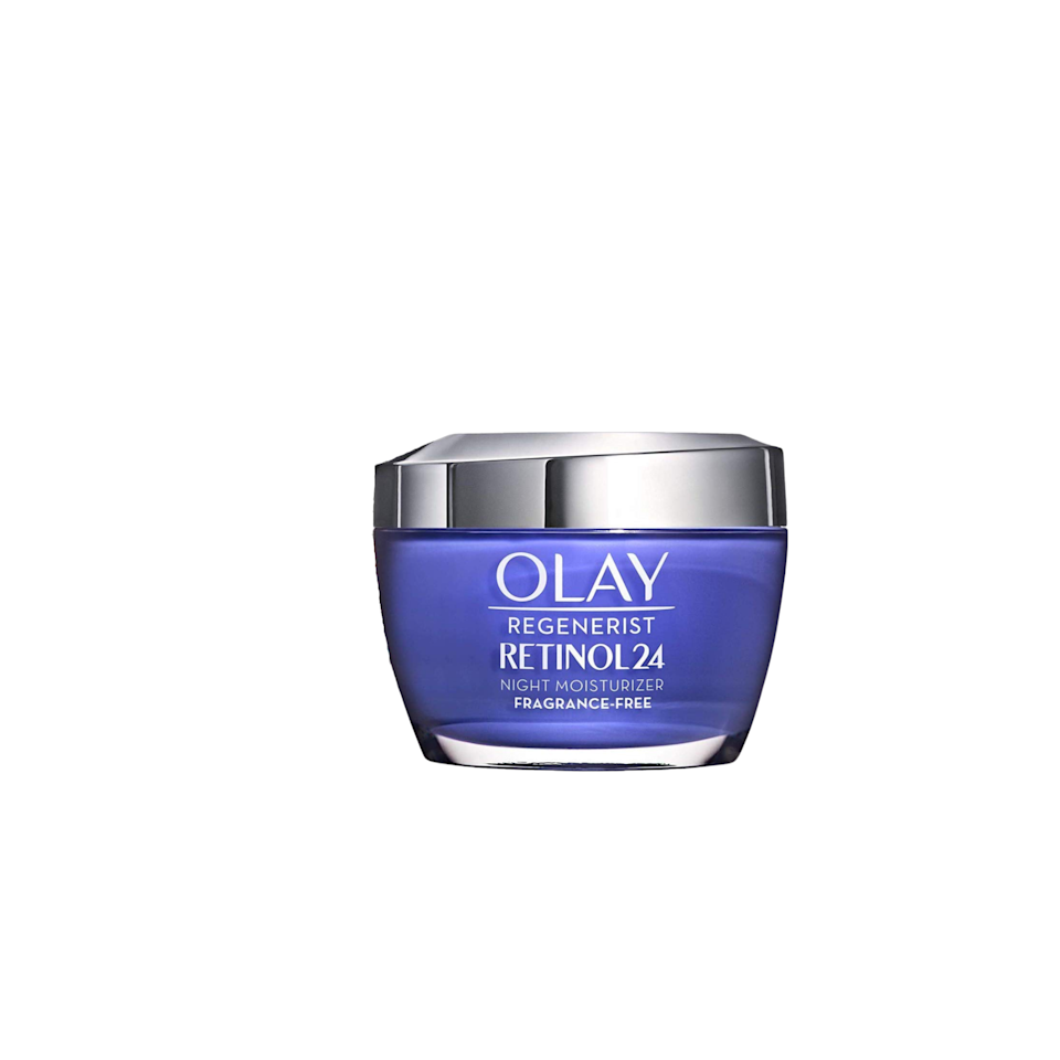 """<p><strong>Olay</strong></p><p>amazon.com</p><p><strong>$46.99</strong></p><p><a href=""""https://www.amazon.com/dp/B07XQBY5QQ?tag=syn-yahoo-20&ascsubtag=%5Bartid%7C10055.g.35000690%5Bsrc%7Cyahoo-us"""" rel=""""nofollow noopener"""" target=""""_blank"""" data-ylk=""""slk:Shop Now"""" class=""""link rapid-noclick-resp"""">Shop Now</a></p><p>When testing for night creams, we used the <a href=""""https://www.canfieldsci.com/imaging-systems/visia-complexion-analysis/"""" rel=""""nofollow noopener"""" target=""""_blank"""" data-ylk=""""slk:VISIA Complexion Analysis"""" class=""""link rapid-noclick-resp"""">VISIA Complexion Analysis </a>to review which night creams best reduced the appearance of wrinkles, and the Regenerist was given the highest scores in this category. """"It <strong>increased skin hydration by 20% over six hours in Lab testing</strong>,"""" says Wnek. Apply to your skin at night to make your skin look brighter and feel more moisturized. </p>"""