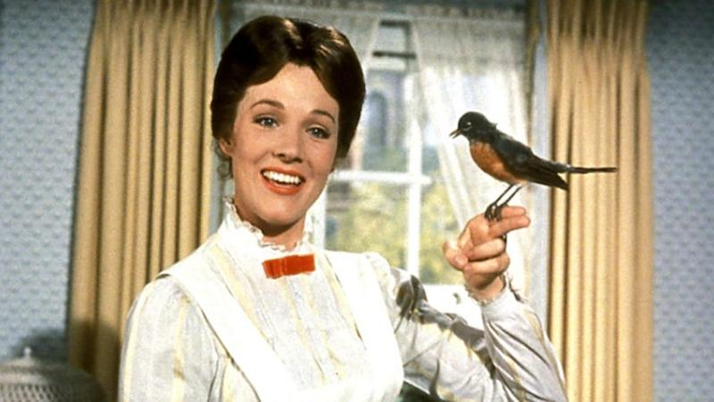 Julie Andrews in the title role of 1964 classic 'Mary Poppins' (credit: Disney)