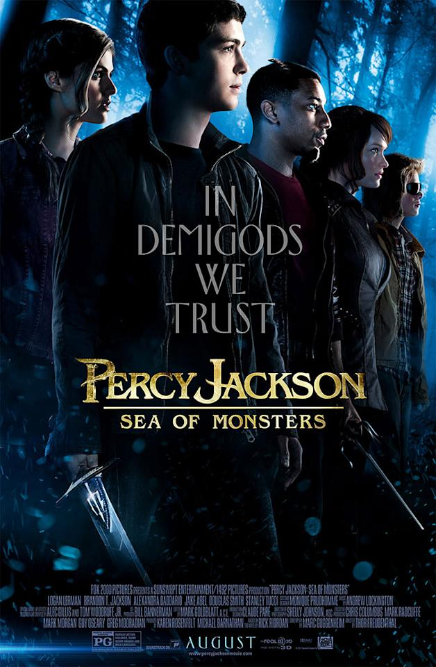 "20th Century Fox's ""Percy Jackson: Sea of Monsters"" - 2013"
