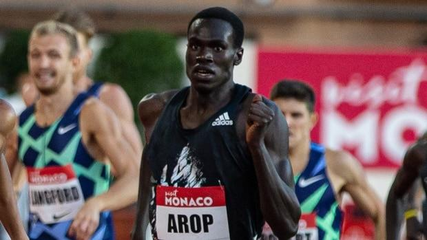 Canadian runner Arop 'happy but not satisfied' with 3rd podium finish in 10 days