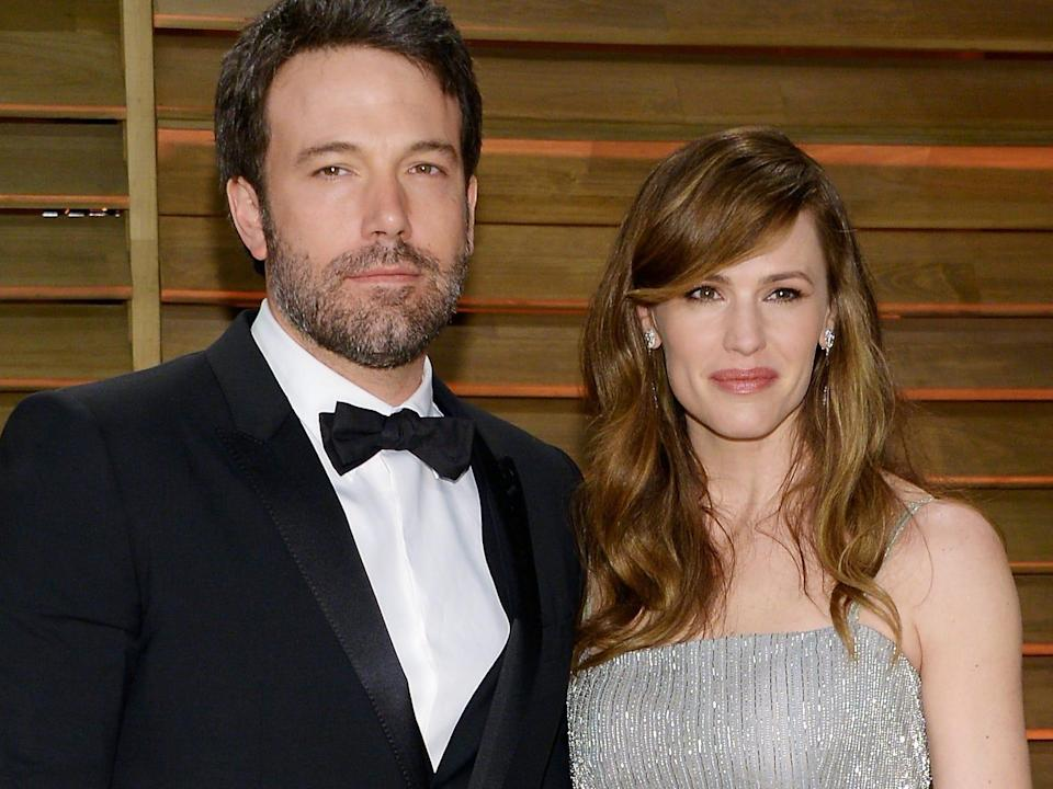 jennifer garner ben affleck march 2014