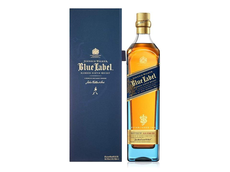 Johnnie Walker blue label blended scotch whisky with gift box, 70cl: Was £189, now £129.85, Amazon.co.uk (Amazon)