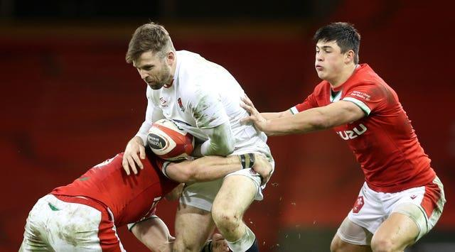 England's Elliot Daly, centre, has been recalled
