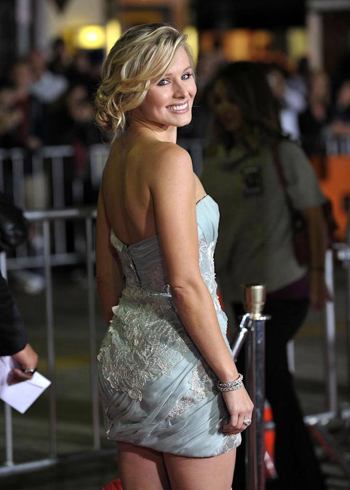"<a href=""http://movies.yahoo.com/movie/contributor/1808491155"">Kristen Bell</a> at the Los Angeles Premiere of <a href=""http://movies.yahoo.com/movie/1810045875/info"">Couples Retreat</a> - 10/05/2009"