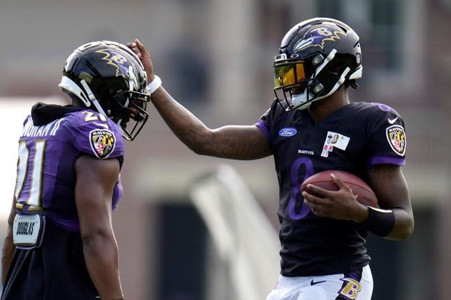 Ravens QB Jackson comfortable being face of the franchise