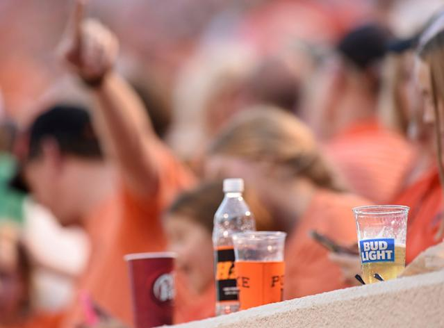 The SEC, the last major conference to have a ban on alcohol sales at athletic events, will allow the sale of alcohol beginning this upcoming school year. (AP)