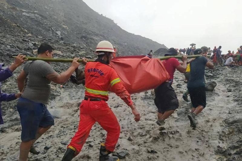126 Killed, More Feared Dead as Myanmar Jade Mine Collapse Buries Workers