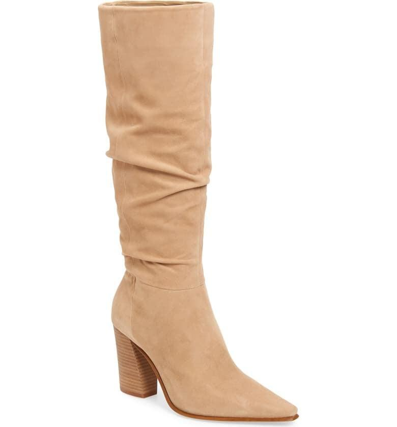 <p><span>Vince Camuto Derika Leather Boots</span> ($150, originally $240)</p>