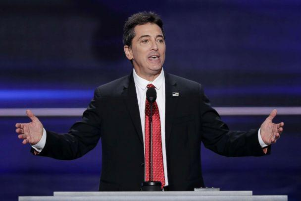 PHOTO: Scott Baio speaks during the opening day of the Republican National Convention in Cleveland, July 18, 2018. (J. Scott Applewhite/AP)