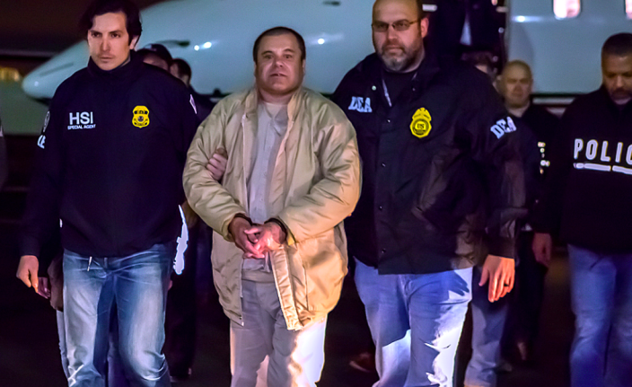 <em>El Chapo – real name Joaquin Guzman – has an unparalleled record of jailbreaks (Wikipedia)</em>