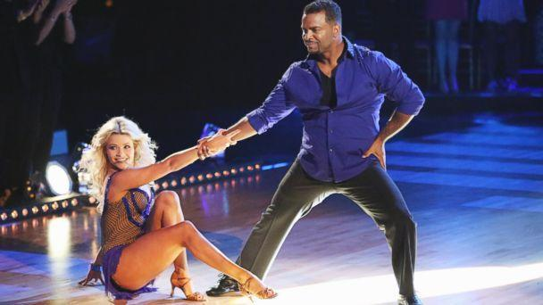 PHOTO: Alfonso Ribeiro dances with Witney Carson on 'Dancing With the Stars.' (Getty Images)
