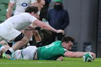 Ireland captain Johnny Sexton hailed Hugo Keenan's catch from his kick in the lead-up to No8 Jack Conan's try as a game-defining moment in the 32-18 win over England