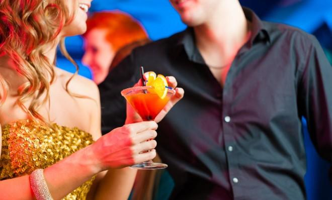 Of those surveyed, 61 percent said they go to bars to meet potential mates.