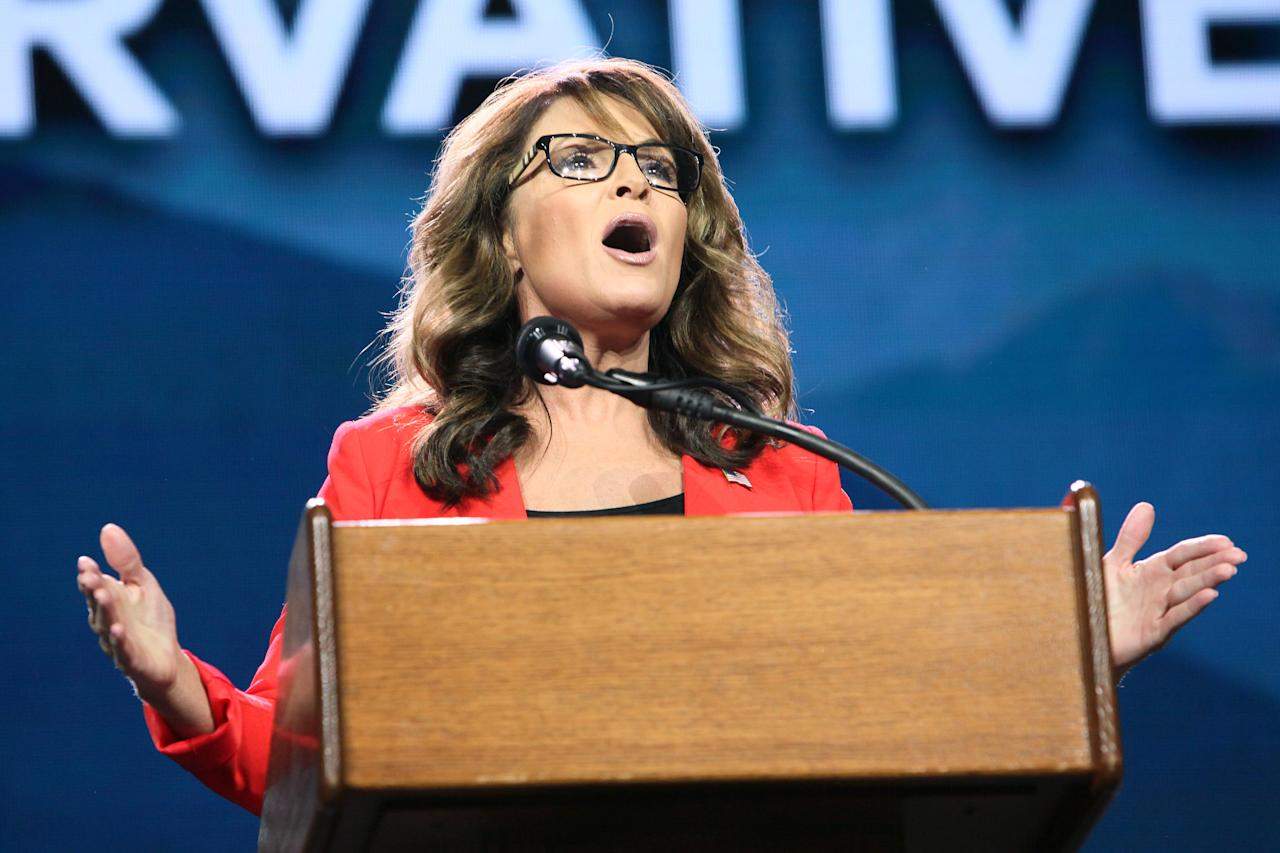 """Former GOP Vice Presidential candidate <a rel=""""nofollow"""" href=""""http://deadline.com/tag/sarah-palin/"""">Sarah Palin</a> has sued the <em><a rel=""""nofollow"""" href=""""http://deadline.com/tag/new-york-times/"""">New York Times</a></em> over an editorial earlier this month that linked an ad for one of Palin's political action committees to the 2011 shooting of Arizona congresswoman Gabrielle Giffords. The defamation lawsuit (<a rel=""""nofollow"""" href=""""https://pmcdeadline2.files.wordpress.com/2017/06/palin-nyt-lawsuit-june-2017.pdf%20"""">read it here</a>) was filed Tuesday in Manhattan federal court and referred to a June editorial about the mass shooting that recently wounded Louisiana GOP congressman Steve Scalise, liking it to the Giffords…"""