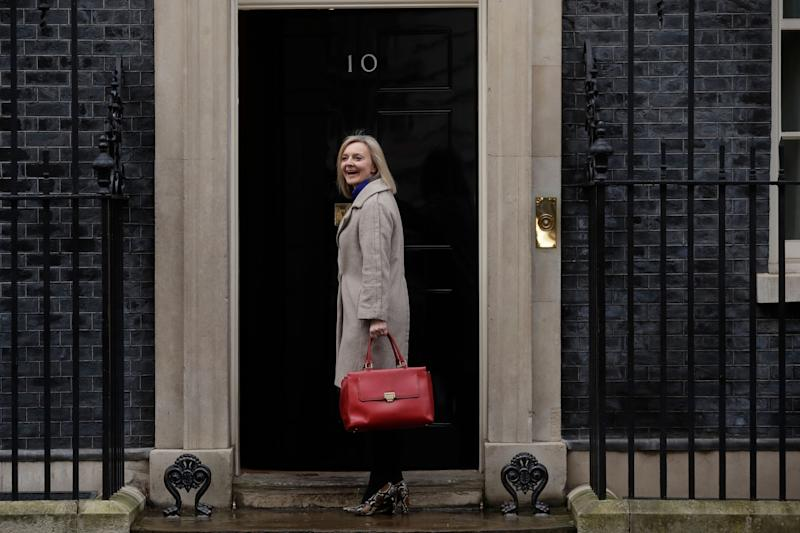 Liz Truss, Secretary of State for International Trade and President of the Board of Trade,  (Photo: ASSOCIATED PRESS)